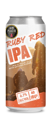 Lake Placid Ruby Red Ipa 16Oz Can